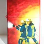 Zippo mit Feuerwehr Offenbach Motiv